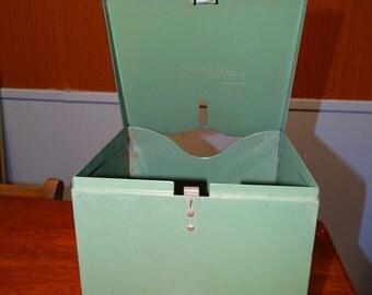 Vintage Kimberly Clark Industrial Disposable Shop Towel Dispenser Atomic Metal Towel Dispenser Industrial