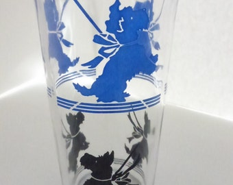 Vintage 8 Ounce Scottie Dog Tumbler