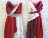 Custom Red Bridesmaids Dresses