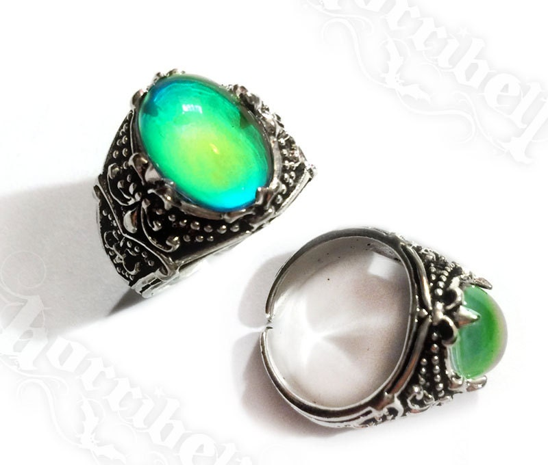 claw mood ring ring mood jewelry