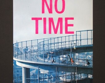 NO TIME (family) - stencilled vintage page