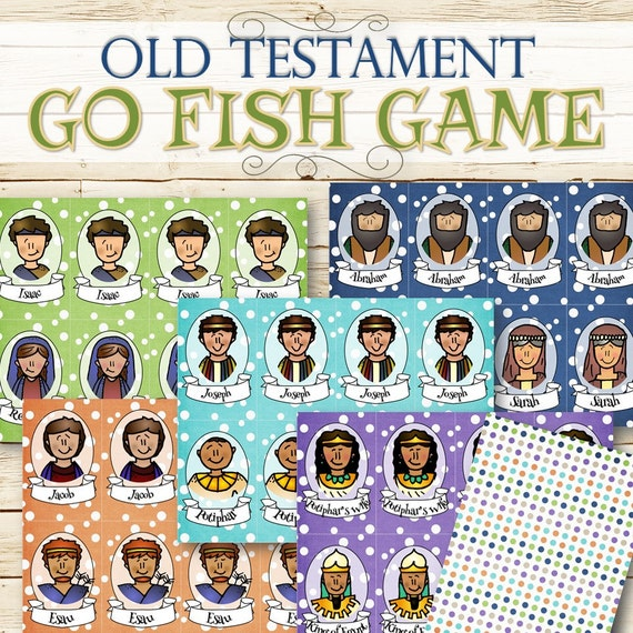Old testament go fish game instant download for Go fish games