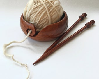 Yarn bowl, wood, Fair Trade