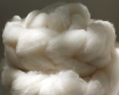 Corriedale Clouds - 3.6oz - The Fluffiest Roving Known To Man - Undyed