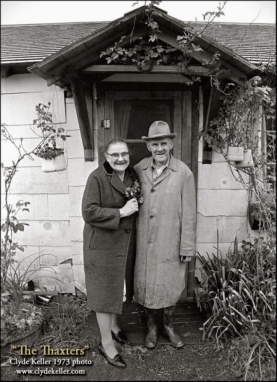 TRUE HEARTS, Oregon Coast Sweethearts, Thaxters, Clyde Keller photo, 1973, Fine Art Print, Signed