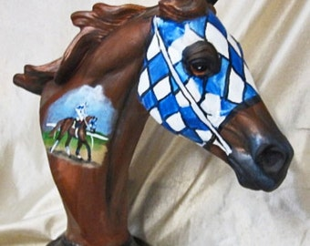 Kentucky Derby race horse
