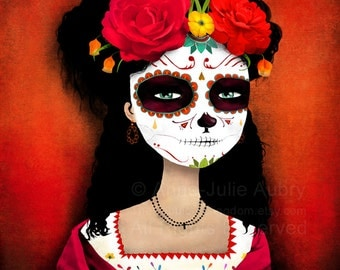 Catrina - Dia de los Muertos - Day of the Dead - open edition print