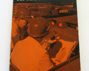 A Guide To Rallying by Larry Reid 1959 Soft Cover Vintage Auto Racing Car race