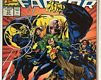 X-Factor Issue 71 (1986) All-new All-Different Team Comic Book