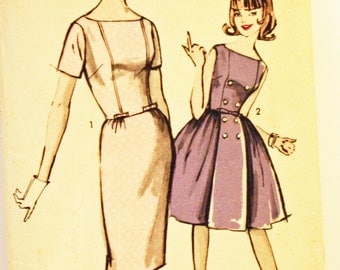 """Vintage 1960s, Sewing Pattern, Advance 2913, Sew-Easy 2913, Two Skirts, Teen & Junior  Size 16, Bust 36"""""""