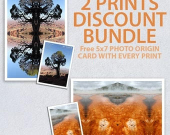 Choose any 2 Prints as a Bundle