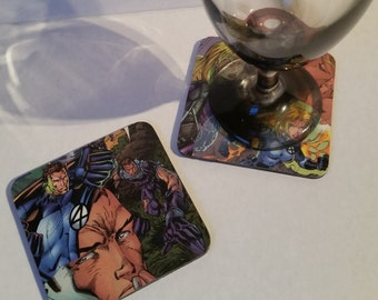 Fantastic Four Coaster Set
