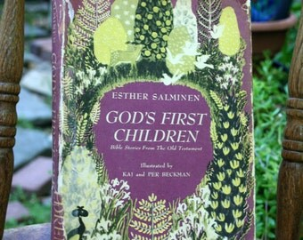God's First Children by Esther Salminen / 1946 / Bible Stories From The Old Testament