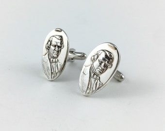 Andrew Johnson Cuff links, Andrew Johnson, Andrew Johnson Gift, President Johnson, USA cuff links, Andrew Johnson memorabilia