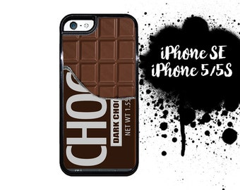 iPhone 5S SE Chocolate Bar Candy Bar Plastic or Rubber Case for iPhone 5 iPhone 5S