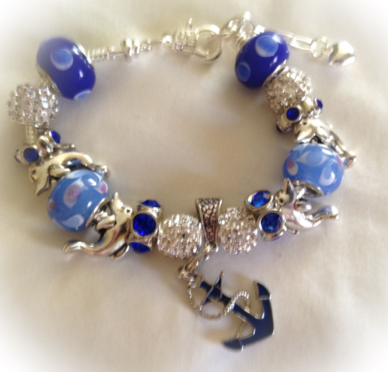 Beach Bracelet Birthday Gift Nautical Jewelry Beach By SWANKEE