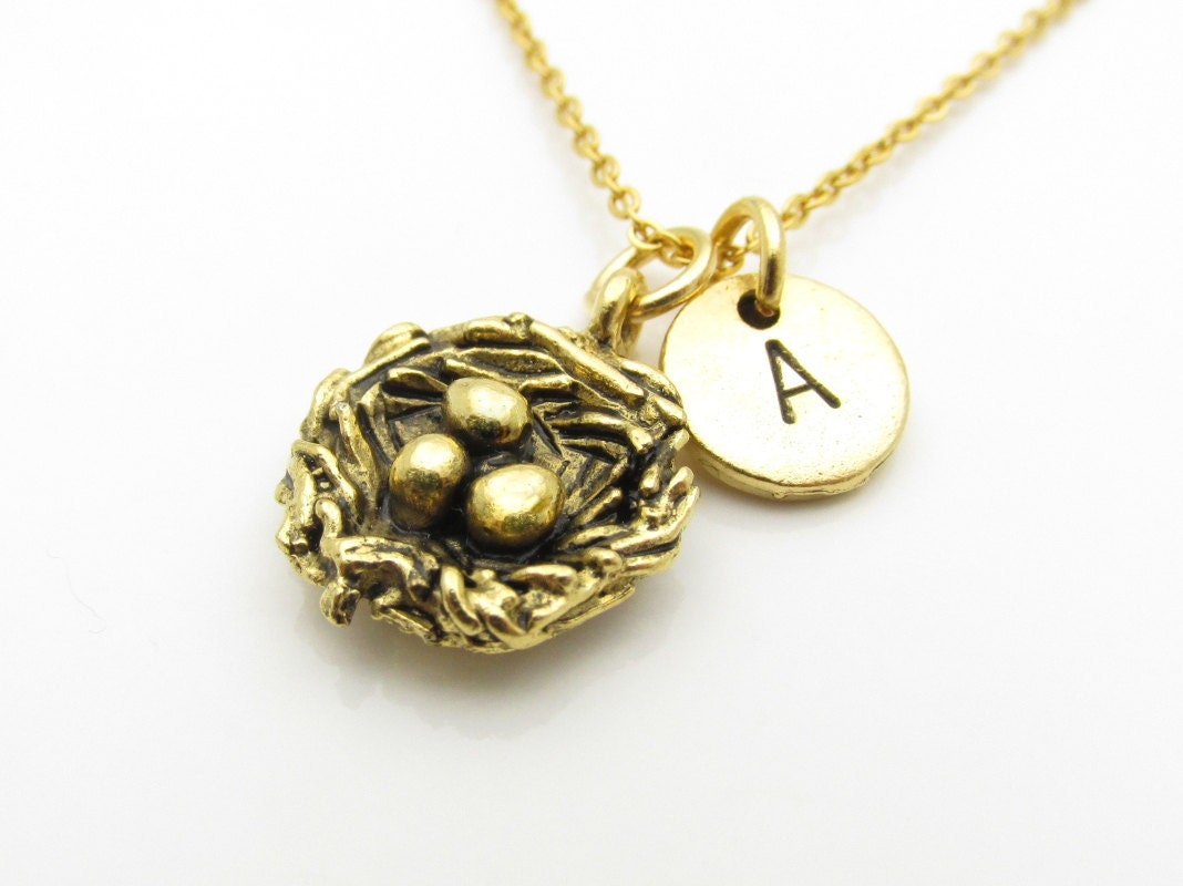 bird s nest necklace nest eggs necklace bird nest