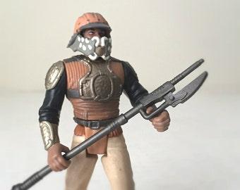 Vintage Star Wars Figure, Lando Calrissian Skiff Disguise - 1990's Star Wars Action Figure Kids Toy, Return of the Jedi - Gift For Him