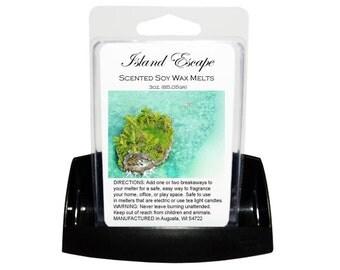ISLAND ESCAPE Soy Melts // Wax Tarts // Soy Tarts // Candle Tarts // Melting Tarts // Scented Tarts // Dye Free