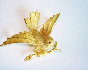 BSK Bird  Brooch