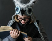 Crochet PATTERN Mystic Owl Hat  Crochet Hat Pattern Includes 5 Sizes Newborn to Adult