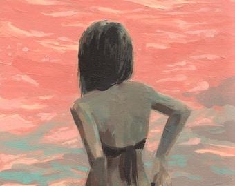 Sea Dream .  giclee art print