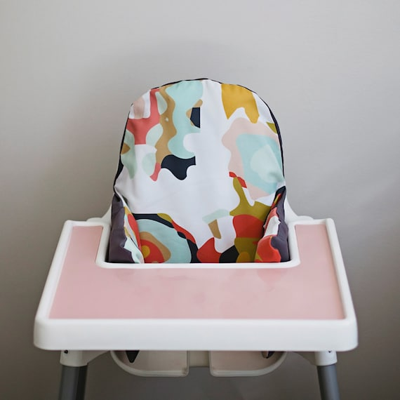Coral Jubilee // IKEA Antilop Highchair Cover // By