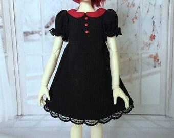MSD BJD pinstripe dress