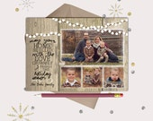Rustic Lights Christmas Cards · 4 photos · May your home be filled with LOVE