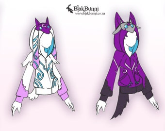 DESIGN ORDER - Kindred inspired hoodies league of legends