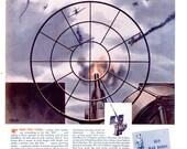 1943 WWII Pontiac General Motors & Benefax Vitamins Advertisements Print Poster Automotive Automobile Car Mechanic Shop Wall Art Home Decor