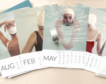 Sale Price for remaining 2016 Calendar SWIM   calendar by Lucy Snowe