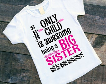 Being an Only Child is Awesome Being a Big Sister will be even Awesomer! - Pregnancy Announcement