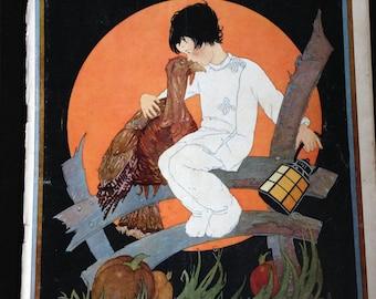 Child Life Nov 1928  Eleandor Duke cover w/paper doll