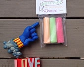 """Fully assembled """"Chalk it Up"""" end of year classmate  gift"""