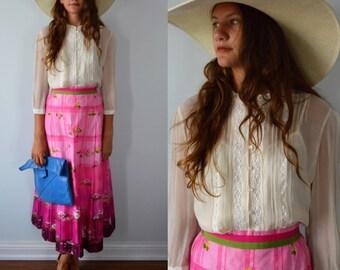 Vintage Laura Ashley Blouse, Vintage Silk Blouse, Laura Ashley, Ivory Silk Blouse, Summer Silk Blouse, Blouses