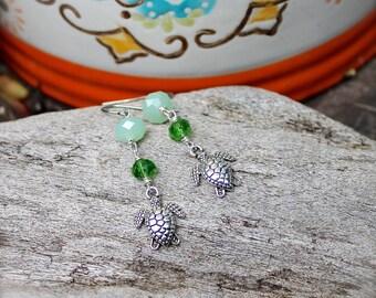 """Shop """"turtle jewelry"""" in Earrings"""