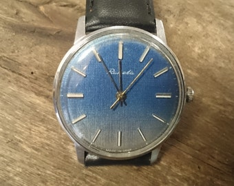Vintage watch Raketa, mechanical watch, men watch, mens watch,