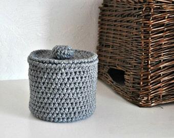Toilet Tissue Basket Bathroom Decoration Spare Roll Holder Grey Home Decor Custom Colors