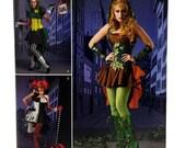 Simplicity 1091, Super Villainess Costume Pattern, Evil Villain Costume,  Adult Costume Pattern, Ladies Costume Pattern, Loriann Designs