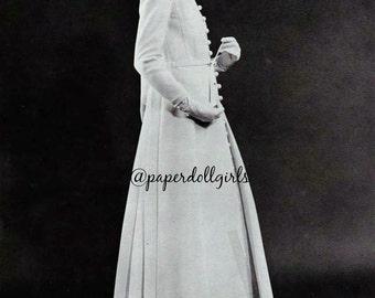 Vintage Fashion Magazine Ad French Vogue Paris 1970 Advertisement Haute Couture Wedding Dress Jacques Heim