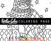cat coloring, coloring book, adult coloring book, coloring pages, adult coloring pages, coloring book for adults, printable coloring pages