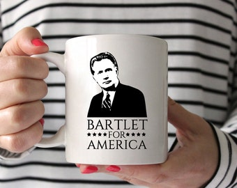 Bartlet for America West Wing coffee cup