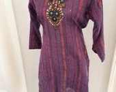 Tribal Glam Purple & Meta...