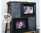 Mother of the Groom Gift from Bride, Father of the Bride Gift, Mother of the Bride Gift, Parent Thank You Gift, Parents Wedding Gift, 16x16