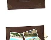 1930s Photo Album with 60+ Linen Postcards and Brochures National Park Landmarks Memorabilia