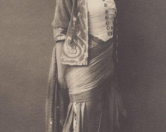 Russian Dancer Olga Fyodorowa, circa 1910s