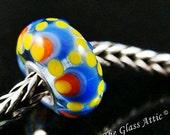 Sun Circles fits Trollbeads Small Core European Charm Bead BHB SRA