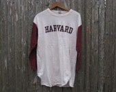 Vintage Harvard Baseball Tshirt Mens Large