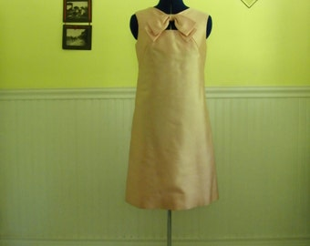 Vintage Bow Cocktail Dress, S